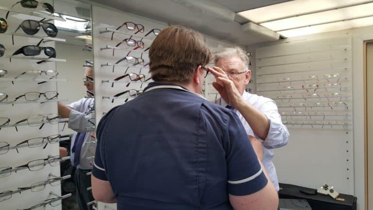 employee eye tests